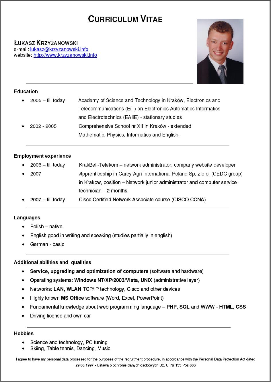 Jak pisać CV? Images  Frompo